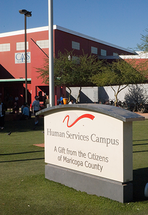 The Human Services Campus is home to 20 agencies serving Maricopa County's homeless men and women.