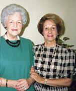 Virginia & Laura